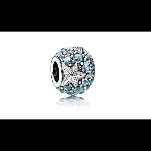 07b3710a1044 Pandora Oceanic Starfish Charm. M 5b4eafc2a5d7c6e4295e6e85